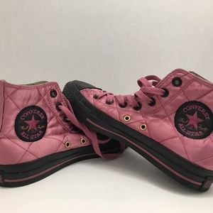 Converse Rare Quilted Chuck Taylor Hi-Tops